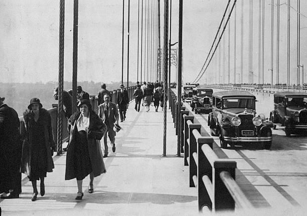 NY: 24th October 1931 – The George Washington Bridge Opens