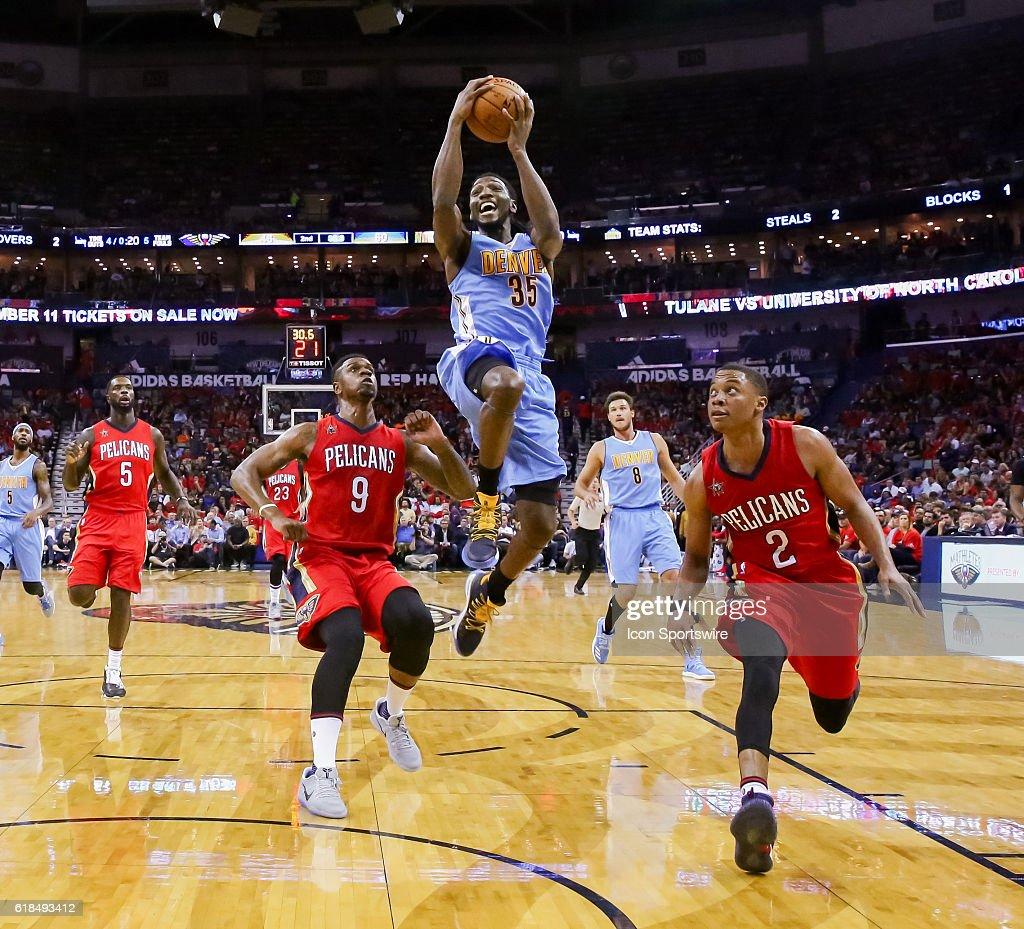NBA: OCT 26 Nuggets at Pelicans : News Photo