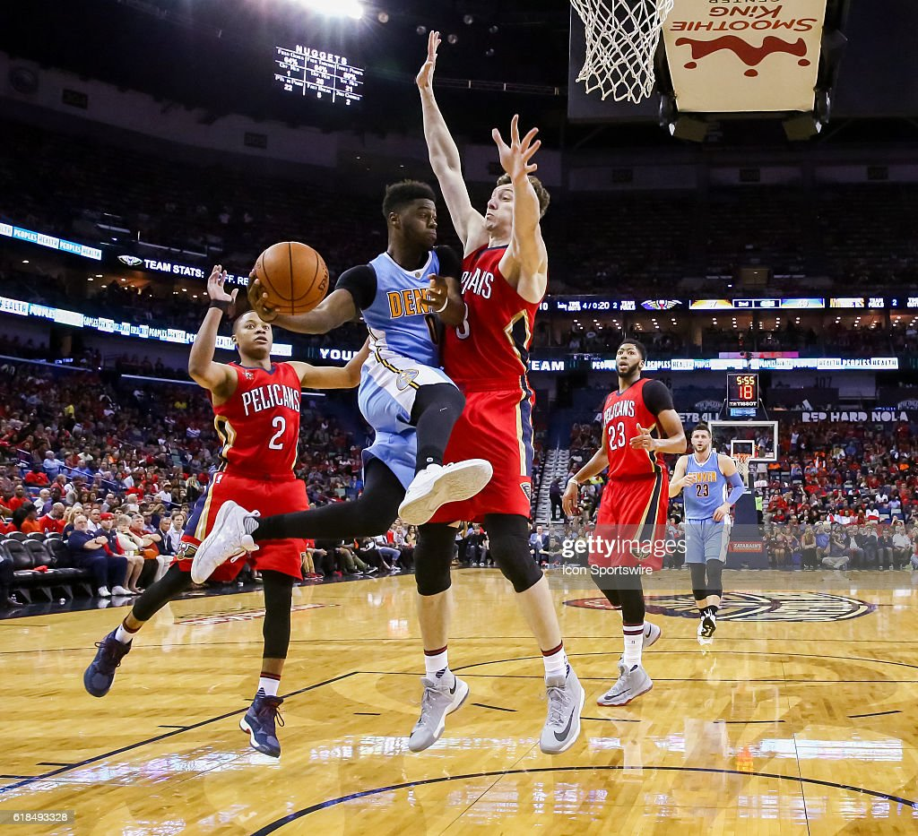Denver Nuggets Guards: Denver Nuggets Guard Emmanuel Mudiay Looks To Pass The