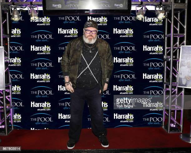Kristian Nairn performs at The Pool After Dark at Harrah's Resort on Friday October 27 2017 in Atlantic City New Jersey