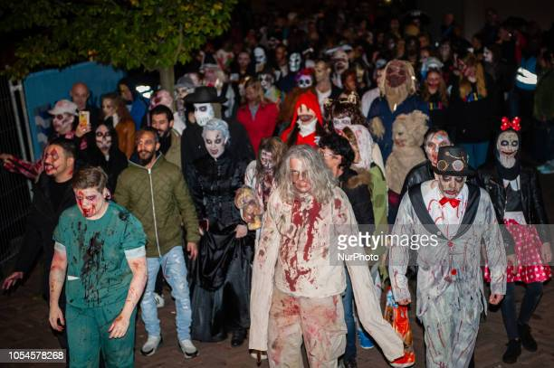October 27th Rotterdam The Netherlands The Zombie Walk Rotterdam took place on October 27th after one year of absence Hundreds of zombies and other...