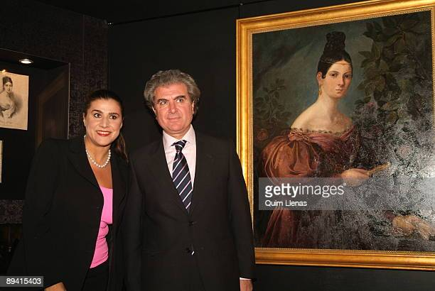 October 29 2007 Royal Theater Madrid Spain The mezzo soprano Cecilia Bartoli yields homage to Maria Malibran in the cycle Large Voices of the Real...