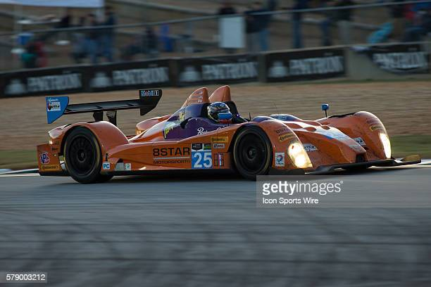The 8Star Autosports ORECA FLM 09 during the Petit Le Mans Powered by Mazda, the season-ending IMSA race in the TUDOR United SportsCar Challenge...