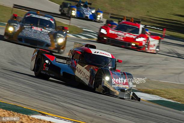 The DeltaWing Racing Cars DWC 13 during the Petit Le Mans Powered by Mazda, the season-ending IMSA race in the TUDOR United SportsCar Challenge...
