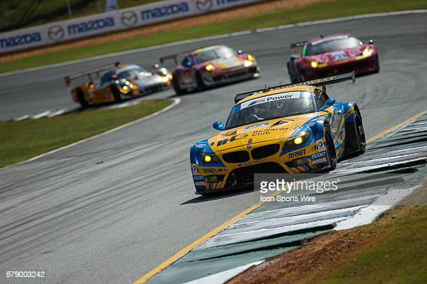 The Turner Motorsports Northwest BMW Z4 during the Petit Le Mans Powered by Mazda, the season-ending IMSA race in the TUDOR United SportsCar...