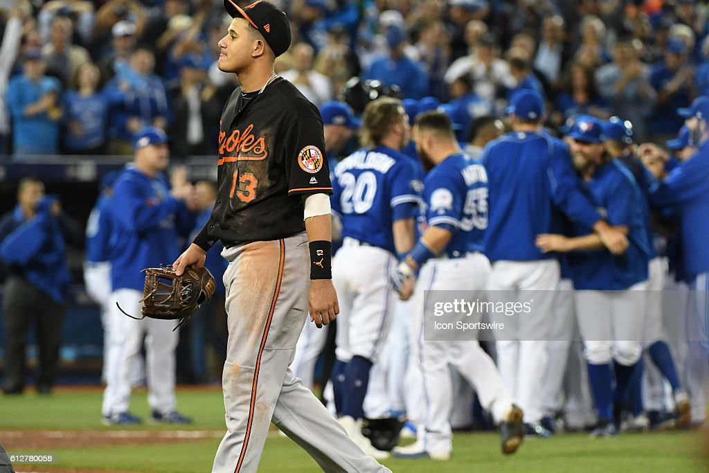 MLB: OCT 04 American League Wild Card - Orioles at Blue Jays : News Photo