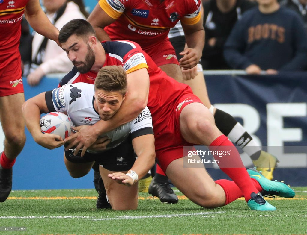 Toronto Wolfpack take on the London Broncos : News Photo