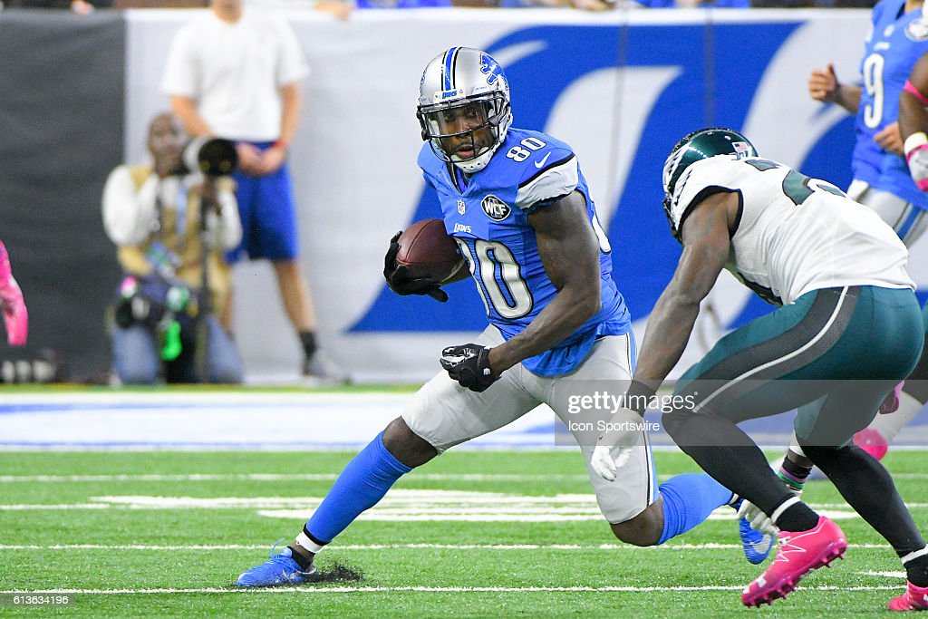 NFL: OCT 09 Eagles at Lions : News Photo