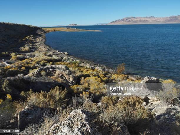October Afternoon at Pyramid Lake, Nevada