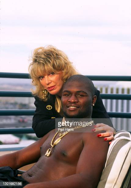 Female boxing promoter Jackie Kallen with her greatest boxing success, former IBO Cruiserweight Champion and former WBU Light Heavyweight Champion...