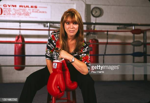 Jackie Kallen in a boxing ring. She is a Female boxing manager and promoter. Her greatest success was managing former IBO Cruiserweight Champion and...