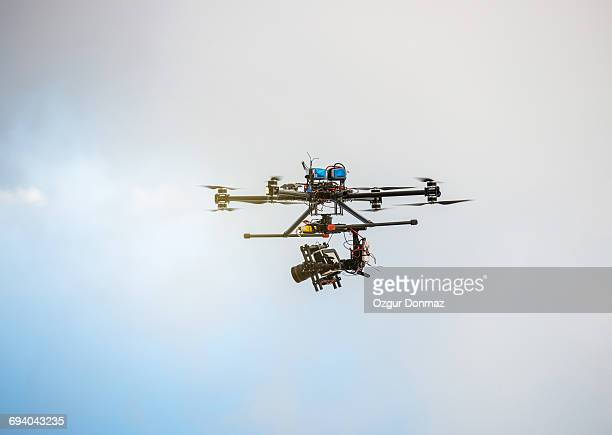 Octocopter drone with camera