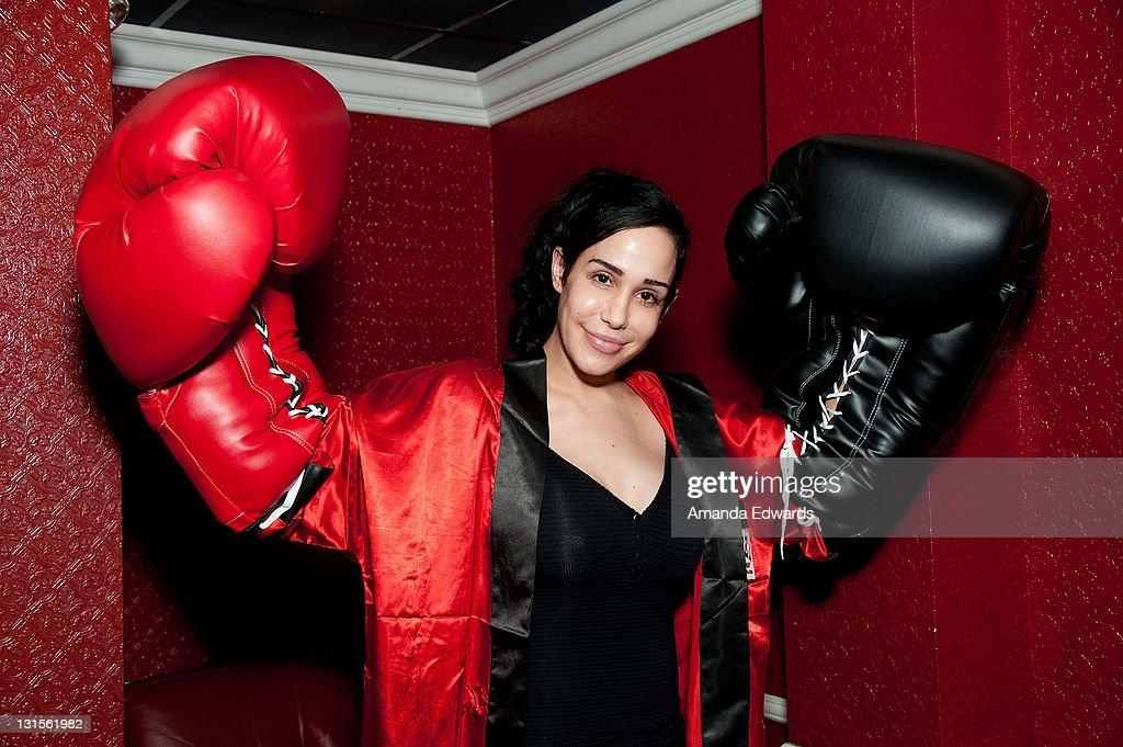FilmOn Presents 'Celebrity Fight Night' : News Photo