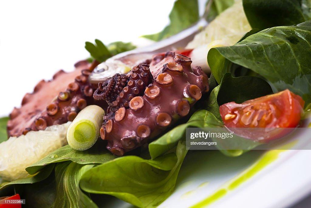 Insalata di polpo e sardine : Foto stock