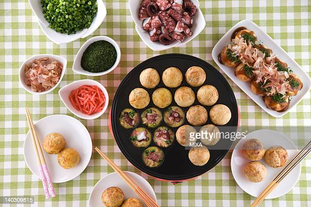 Octopus Ball on Hot Plate