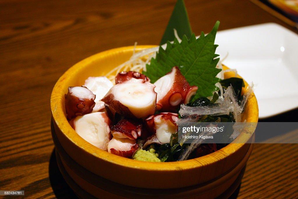 Octopus Sashimi : ストックフォト