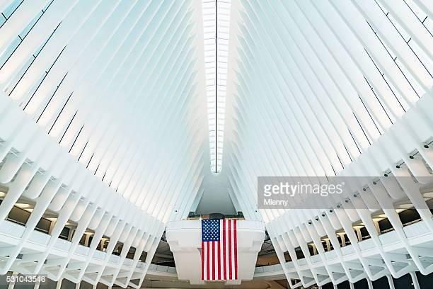 Oculus New York City WTC Verkehrsknotenpunkt