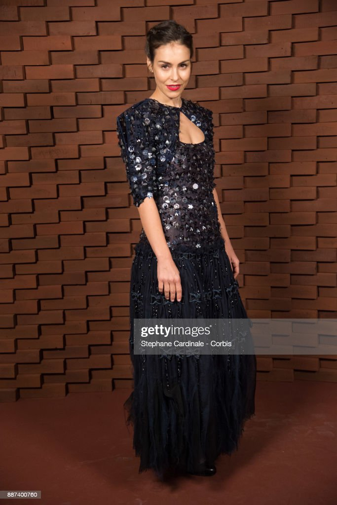 Oda Jaune, painter and widow of Joerg Immendorff attends the Chanel - Collection Metiers d'Art Paris Hamburg 2017/18 at The Elbphilharmonie on December 6, 2017 in Hamburg, Germany.