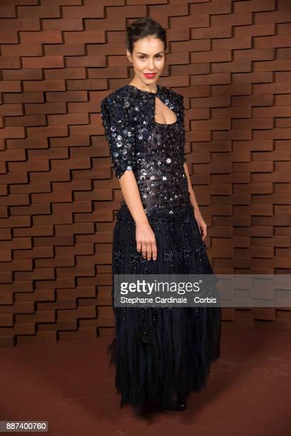 Oda Jaune painter and widow of Joerg Immendorff attends the Chanel Collection Metiers d'Art Paris Hamburg 2017/18 at The Elbphilharmonie on December...