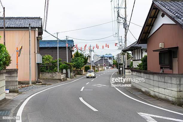 Oda, small town near Tsukuba, Japan
