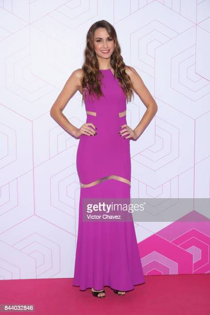 Odalys Ramirez attends the Liverpool Fashion Fest Autumn/Winter at Fronton Mexico on September 7 2017 in Mexico City Mexico