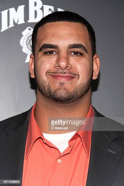 Oday Aboushi attends the ESPN The Magazine 10th annual PreDraft Party at The IAC Building on April 24 2013 in New York City