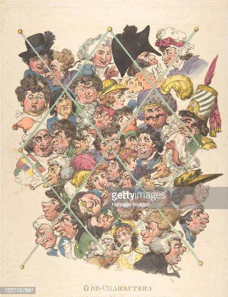 Odd Characters February 16 1801 Artist Thomas Rowlandson