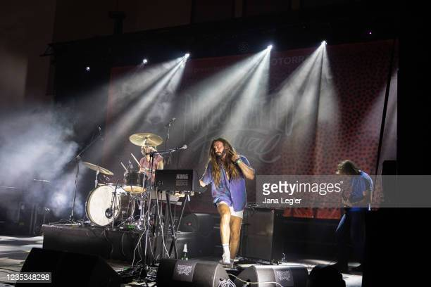 September 18: Odd Couple perform live on stage during day 2 of Pure & Crafted Festival in Berlin on September 18, 2021 in Berlin, Germany.