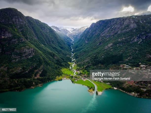 odda, norway - noruega - fotografias e filmes do acervo