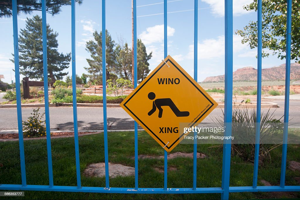 Oddest Street Signs : Stock Photo