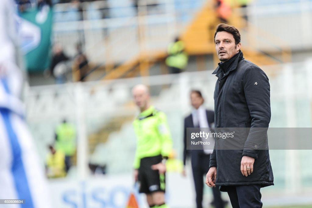 Pescara Calcio v SS Lazio - Serie A : News Photo