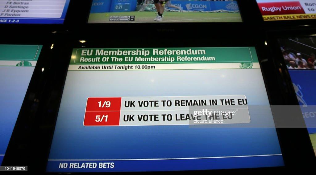 Euro referendum betting sports betting statistical software