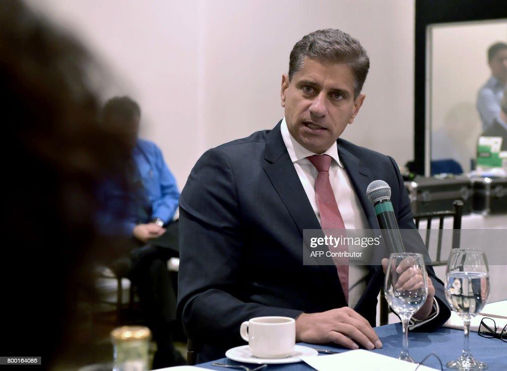 Odebrecht Brazilian giant's Regional Director Mauro Hueb