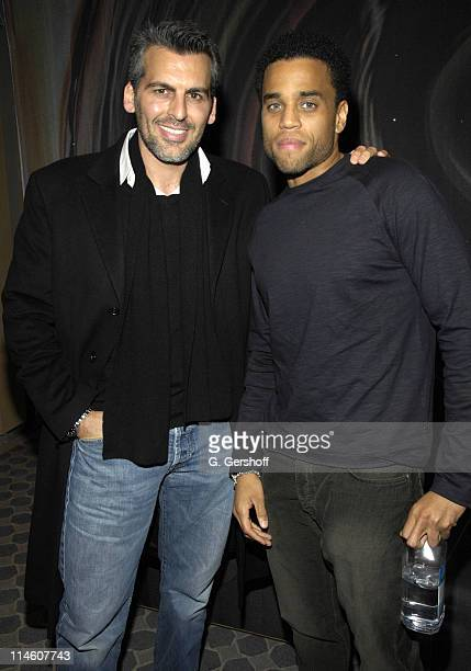 Oded Fehr and Michael Ealy during 'Sleeper Cell' New York Premiere Presented by Showtime Networks and Creative Coalition at The Core Club in New York...