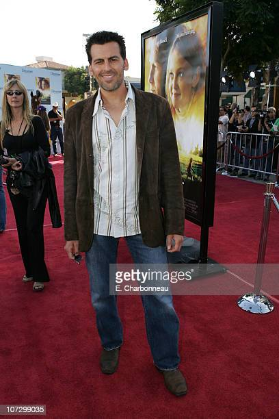 Oded Fehr during DreamWorks Pictures' 'Dreamer Inspired by a True Story' Los Angeles Premiere Red Carpet at Mann Village Theatre in Westwood...