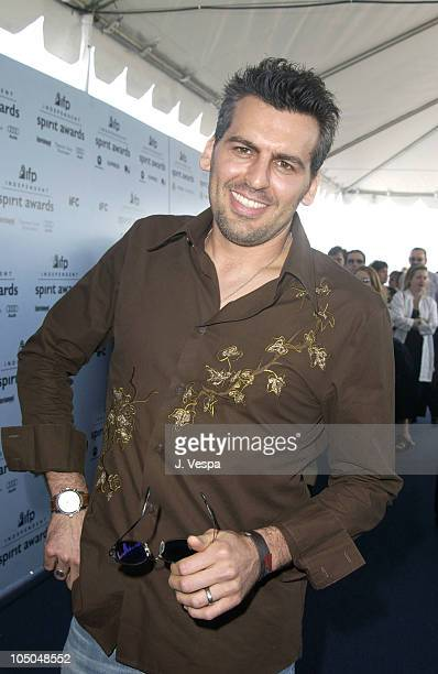 Oded Fehr during The 18th Annual IFP Independent Spirit Awards Arrivals at Santa Monica Beach in Santa Monica California United States