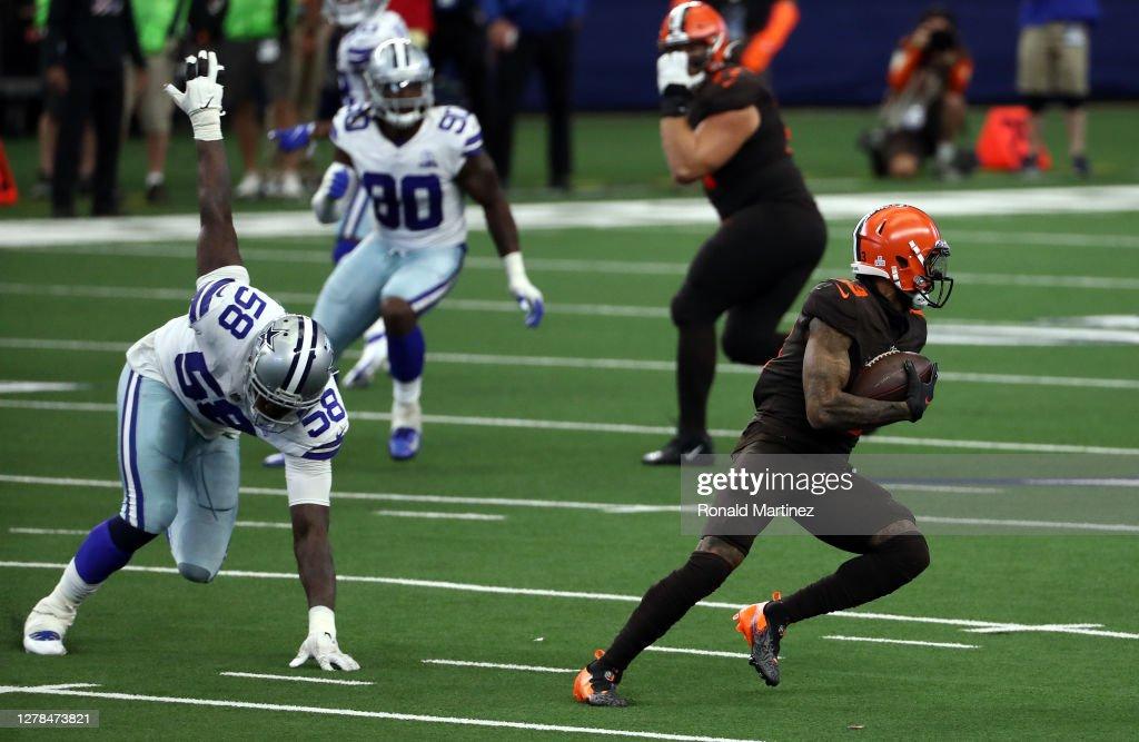 Cleveland Browns v Dallas Cowboys : News Photo