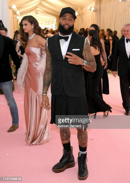 Odell Beckham Jr attends The 2019 Met Gala Celebrating Camp Notes on Fashion at Metropolitan Museum of Art on May 06 2019 in New York City