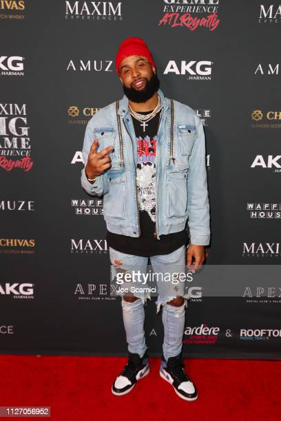 Odell Beckham Jr attends The Maxim Big Game Experience at The Fairmont on February 02 2019 in Atlanta Georgia