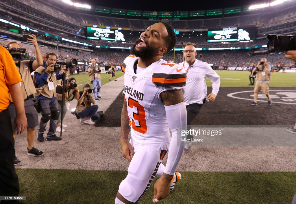Cleveland Browns v New York Jets : Nachrichtenfoto