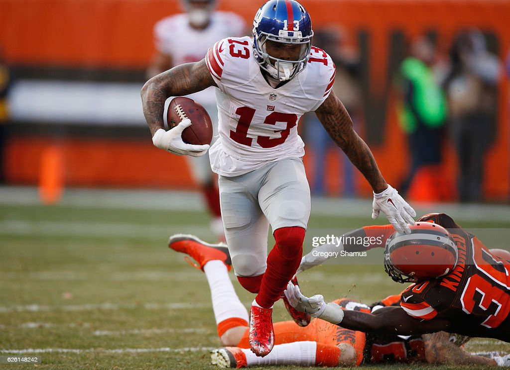 New York Giants v Cleveland Browns : News Photo
