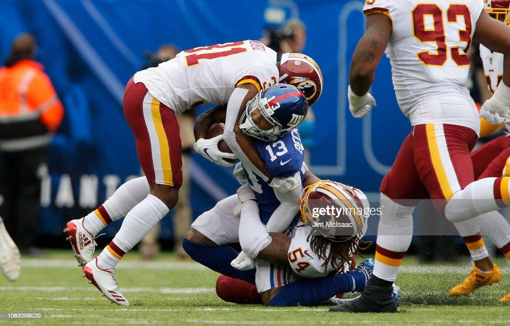 Washington Redskins v New York Giants : ニュース写真