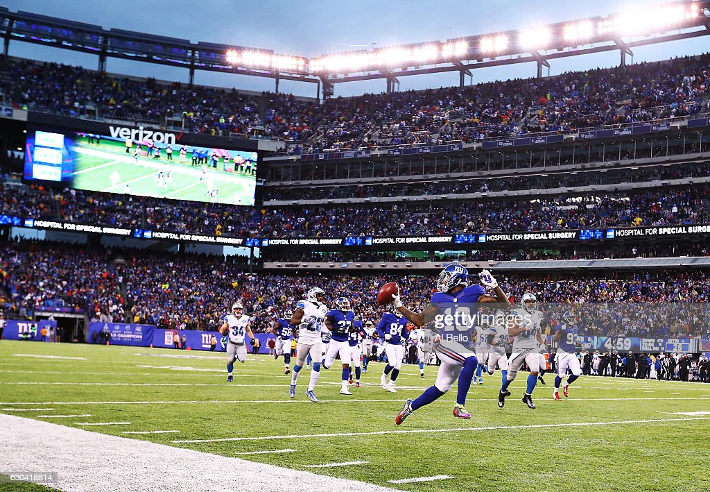 Detroit Lions v New York Giants : News Photo