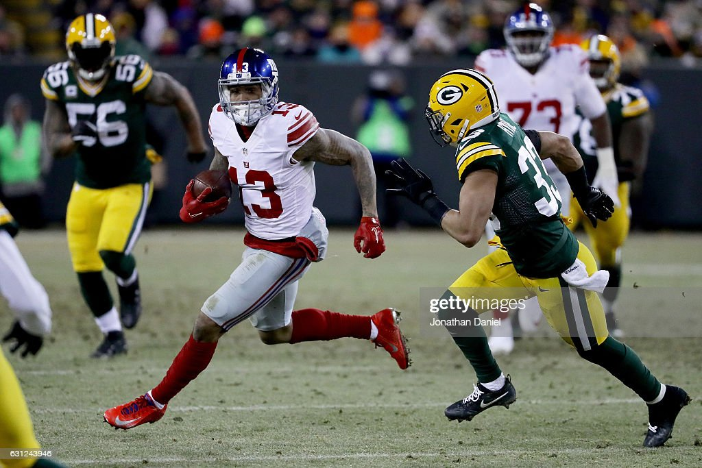 Wild Card Round - New York Giants v Green Bay Packers : News Photo
