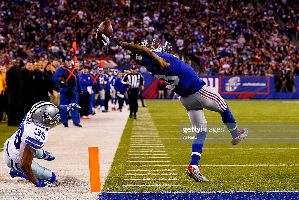 Dallas Cowboys v New York Giants : Nachrichtenfoto