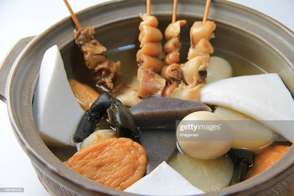 Oden (Japanese fishcake stew) : Foto de stock