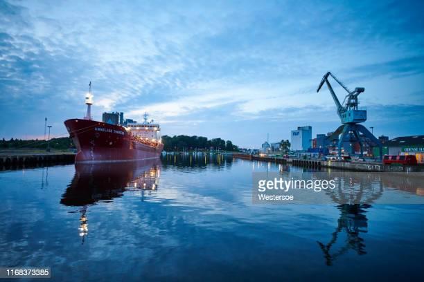 オーデンセ港 2019年8月 - オーデンセ ストックフォトと画像