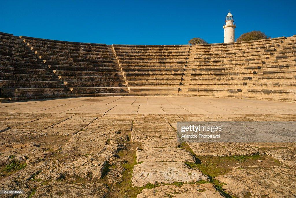 Odeon archaeological site : ストックフォト