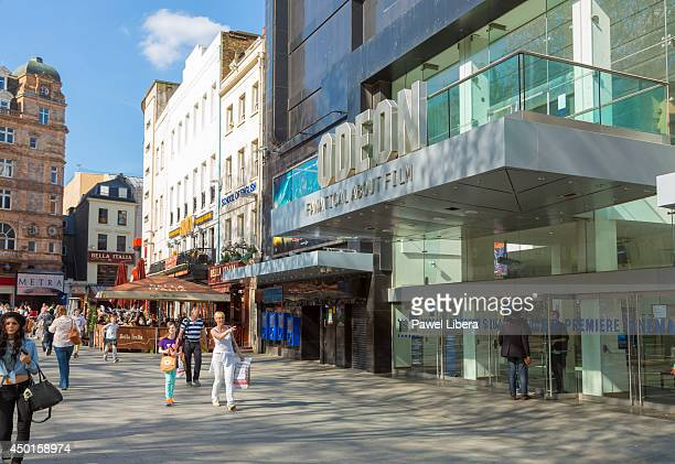 Odeon Cinema in London's Leicester Square