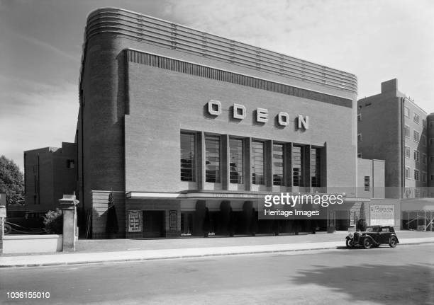 Odeon Cinema Swiss Cottage Camden London 1937 Oscar Deutsch established the Odeon cinema chain in 1933 and Odeon became a registered trade mark His...